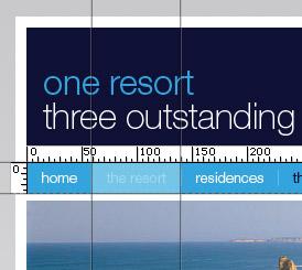 Firebug screenshot - on-screen rulers