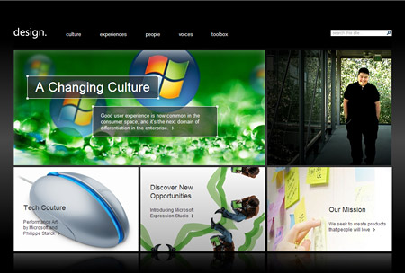 Microsoft Design Website